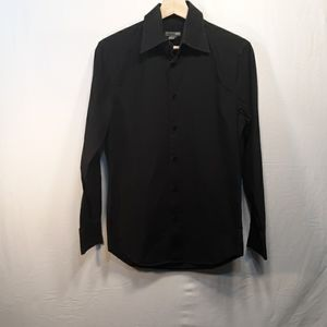 H&M Blk Button Down Dress Shirt